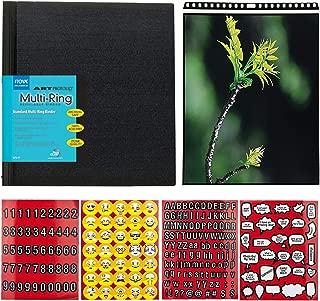 Itoya Profolio-MultiRing Refillable Binder Landscape, 11 x 8.5 Inches + Itoya ProFolio PolyGlass Pages 11