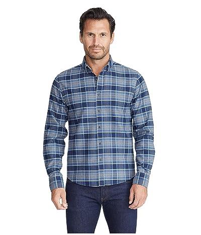 UNTUCKit Heavyweight Wrinkle-Free Flannel Sonoraan Shirt (Grey) Men