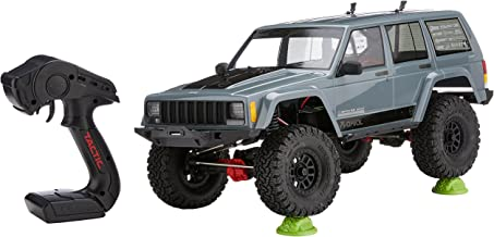 Axial SCX10 II Jeep Cherokee 4WD RC Rock Crawler Off-Road 4x4 Electric RTR with 2.4GHz Radio and Waterproof ESC, 1/10 Scale