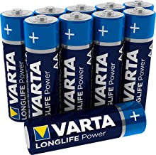 VARTA Longlife Power AA Mignon Batterien, 10er Pack