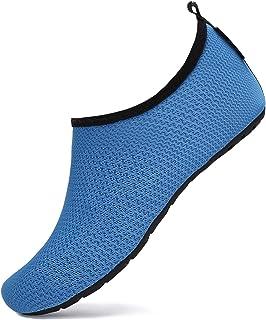 SAGUARO Niños Zapatos de Agua Descalzo Barefoot Respirable Calcetines de Natación Aire Libre Piscina de Playa Surf Yoga Ca...