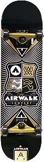 Airwalk Uncontested Complete Skateboard, Gold
