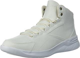 Under Armour Women's Ua W Charged Pivot Mid CNVS Training Shoes, Off-White White (Ivory 100) 2.5 UK