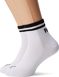 PUMA Men's Heritage Quarter Sock (Pack of 2)
