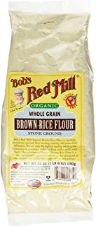 Bob's Red Mill Organic Whole Grain Brown Rice Flour 24 Ounce