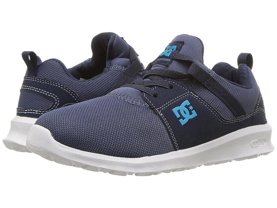 DC Kids Heathrow (Little Kid/Big Kid) (Blue/Blue/Blue) Boys Shoes