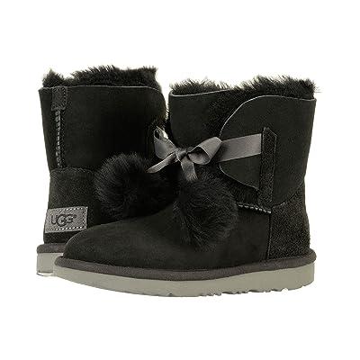 UGG Kids Gita (Little Kid/Big Kid) (Black) Girls Shoes