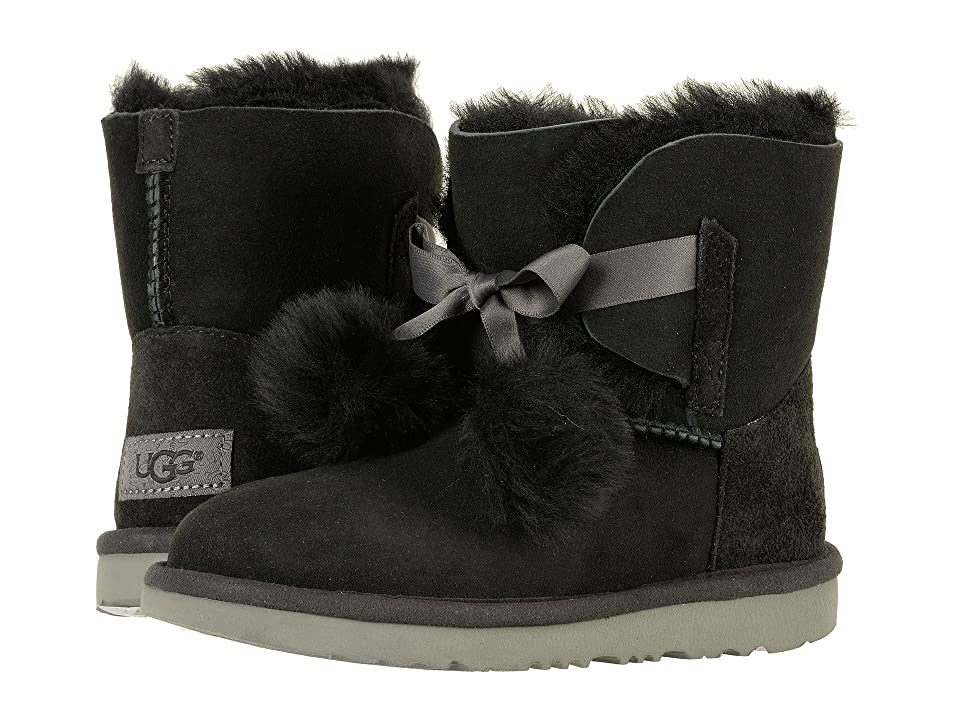 UGG Kids Gita (Little Kid/Big Kid) (Black) Girls Shoes