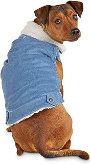 Bond & Co. Blue Corduroy Dog Jacket