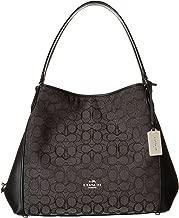 COACH Womens Signature Edie 31 Shoulder Bag