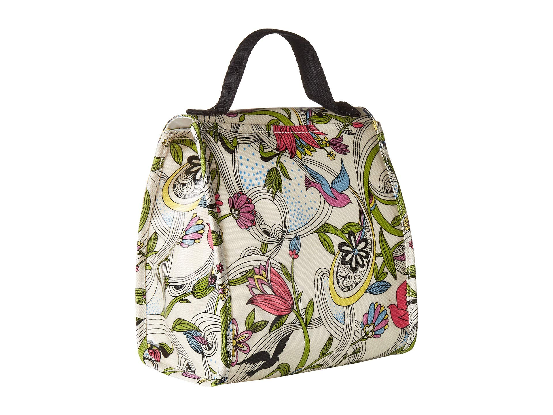 Peace White Circle Dove Artist Sakroots Lunchbag I6PffH