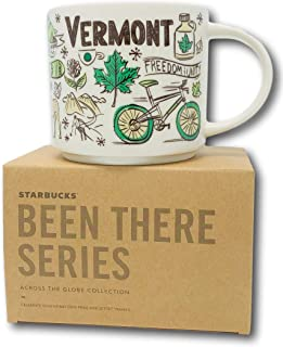 Starbucks Vermont Mug Been There Series Across the Globe Collection 14 oz