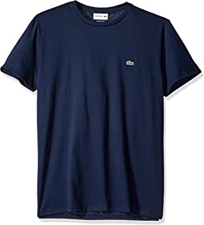 Lacoste Men's Short Sleeve Crew Neck Pima Cotton Jersey T-Shirt