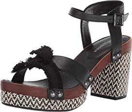 4eed6eacf9 Tory Burch 90 mm Ravello Platform Wedge at Zappos.com
