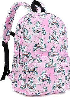 Kids Preschool Backpack Girls Toddler Backpack Kindergarten School Bags (Unicorn -Pink)