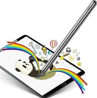 Selvim Lápiz para Pantalla Táctil Stylus Pen Universal, Lapiz Óptico Capacitivo con Punta de 1.5mm Fina, para Dibujar en Tableta, iPad, Móviles de Android, iOS, Huawei, Surface, Pencil para Tablet