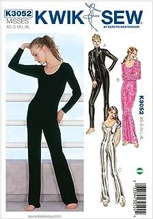 Kwik Sew K3052 Unitards Sewing Pattern, Size XS-S-M-L-XL