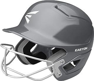 EASTON Alpha Fastpitch Softball Batting Helmet with Mask | 2020 | Dual-Density Impact Absorption Foam | High Impact Resistant ABS Shell | Moisture Wicking BioDRI Liner | Removable Logo
