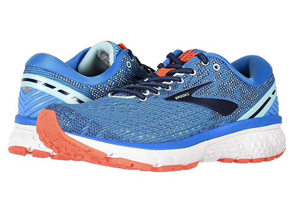 Brooks Ghost 11 (Blue/Navy/Coral) Women
