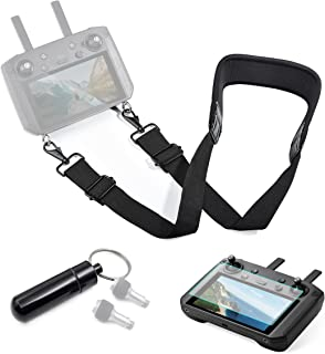 STARTRC Mavic Air 2S Smart Controller Lanyard Neck Strap with Screen Protector for DJI Smart Controller Accessories