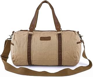 Duffle Bag - Canvas Travel Duffel Weekender Shoulder Bags Gym Tote