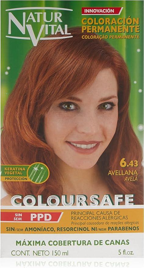 Naturaleza Y Vida Coloursafe Tinte Permanente Tono 6.43 ...