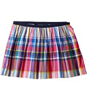 Polo Ralph Lauren Kids - Yarn-Dyed Poplin Plaid Skirt (Toddler)