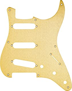 gold anodized strat pickguard