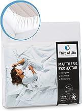 100% wasserdichter Matratzenschoner | Hygienische und atmungsaktive Matratzenauflage | Anti-Allergie Matratzenschutz | Wasserfester Rundumbezug | Dermathologisch getestet | Anti-Milben Bezug 60x120cm