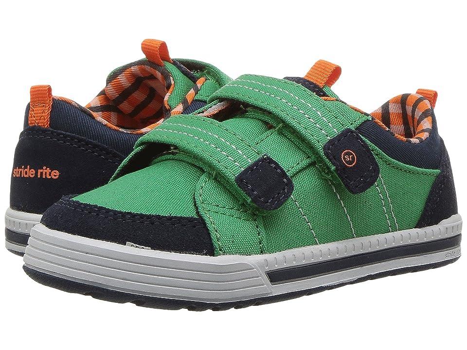 Stride Rite Logan (Toddler) (Green) Boys Shoes