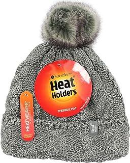 Heat Holders Women's Pom Pom Beanie