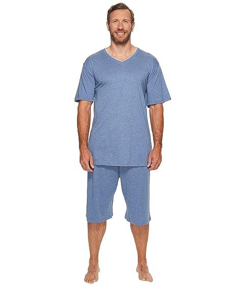 Websites Online Tommy Bahama Big & Tall Heather Cotton Modal Knit Jam Shorts Denim Heather Purchase c9ej6w