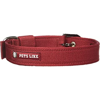 Pets Like Poly Collar, Maroon (32mm)
