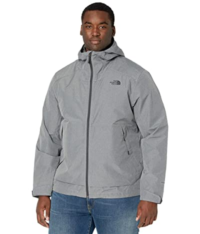 The North Face Big Tall Millerton Jacket (TNF Medium Grey Heather) Men