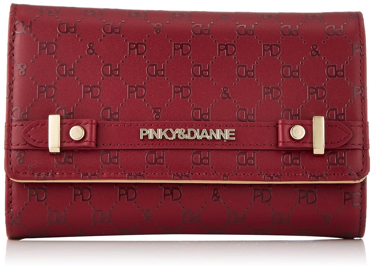 経済的ベストピニオン[ピンキーアンドダイアン] 折財布 【ベリィ】ロゴプリント 大容量 人気定番型
