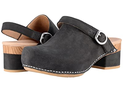 Dansko Marty (Black Milled Nubuck) Women