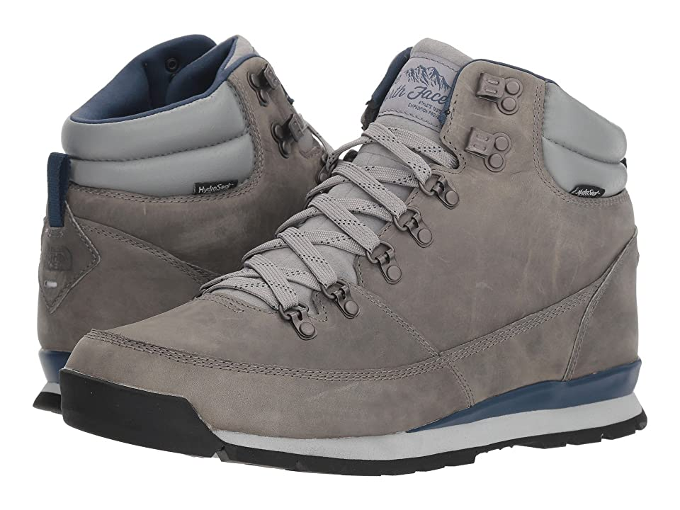 The North Face Back-To-Berkeley Redux Leather (Griffin Grey/Shady Blue) Men