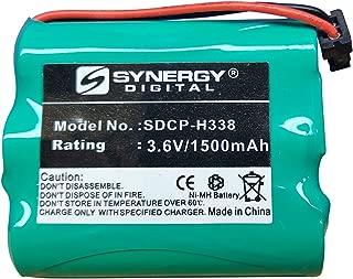 Lenmar CBC318 Cordless Phone Battery Ni-MH, 3.6 Volt, 1500 mAh - Ultra Hi-Capacity - Replacement for Panasonic HHR-P505 Rechargeable Battery
