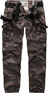 Surplus Premium Trousers Slimmy, blackcamo, Size XXL