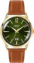 Henry London Chiswick Tan Leather Strap Watch HL41-JS-0188