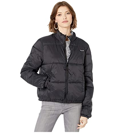 Volcom Puffs N Stuff Reversible Jacket (Black) Women