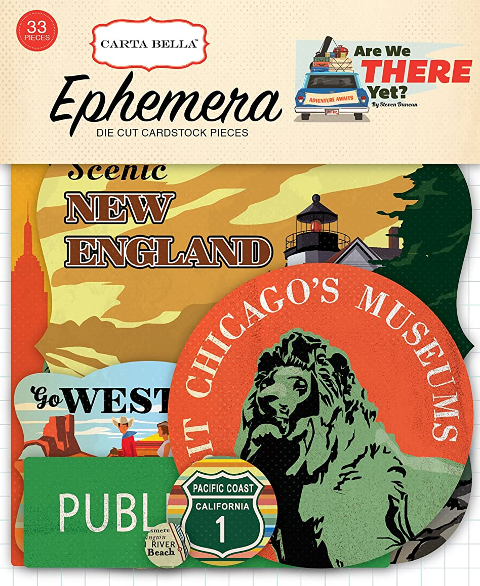 Carta Bella Paper Company are We There are We There Yet Ephemera