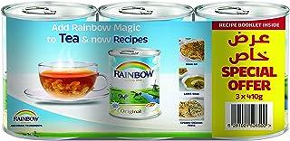Rainbow Evaporated Milk VitD, 410 g (Pack of 3)