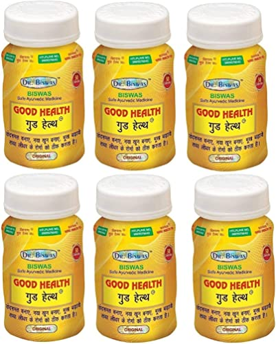 Dr Biswas Good Health 50 Capsules Pack of 6