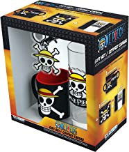 ABYstyle - One Piece - Coffret Cadeau - Luffy - Verre + Porte-clés + Mini Mug