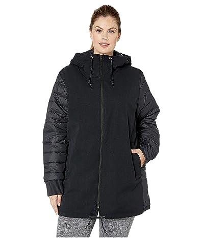 Columbia Plus Size Boundary Baytm Hybrid Jacket (Black) Women