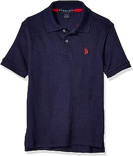 U.S. Polo Assn. Boys 6328 Short Sleeve Interlock Polo Short Sleeve Polo Shirt