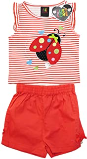 Just Love 4001-4T Two Piece Girls Shorts Set