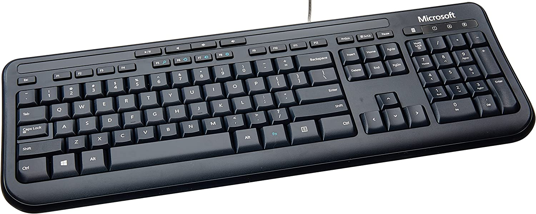 Microsoft Wired Desktop 600 (Black) - APB-00001