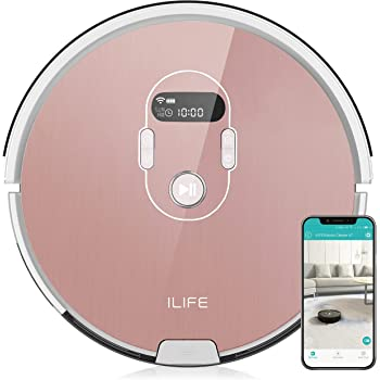 ILIFE A7 Robot Aspirador, Rose: Amazon.es: Hogar